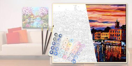 Картины по номерам – сам себе художник