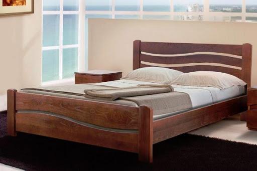 Двуспальные кровати из натурального дерева по цене производителя