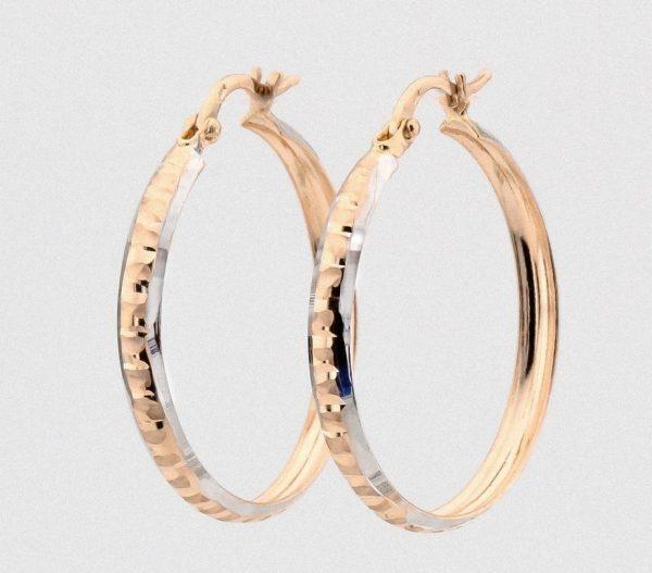 Серьги-кольца — модная тенденция в 2021